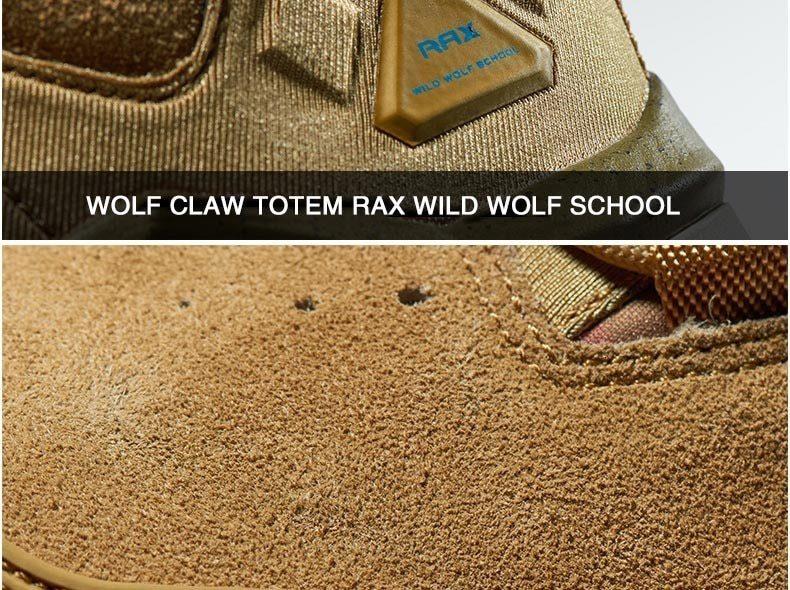 RAX Mid-top Waterproof Hiking Boots