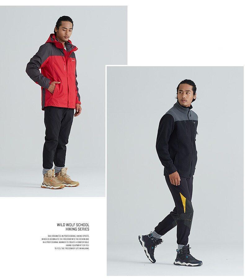 Wild Wolf Men's Winter Hiking Boots
